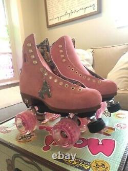 BRAND NEW Moxi Lolly Roller Skates Strawberry Size 5 (womens 6.5 7)