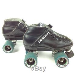 Black RS1000 Size M 4 Riedell Speed Skates Hyper Witch Doctor Nova Sure Grip