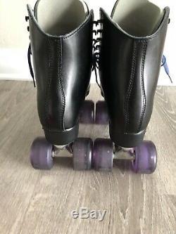 Black Riedell 120 Roller Skates
