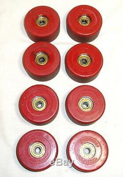 Black Riedell 265 Roller Skates Size 5, Zinger Wheels Sure Grip Invader Plates