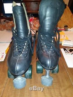 Black riedell roller skates size 12