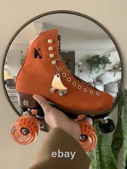 Brand New Moxi Lolli Roller Skates Size 5 Clementine