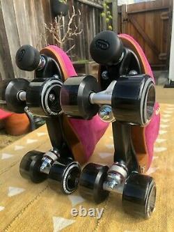 Brand New Moxi Lolly Roller Skates, Fuchsia size 8 (W 9-9.5)