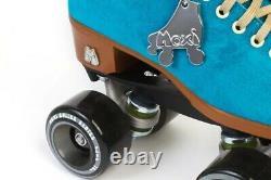 Brand New Moxi Lolly Roller Skates Pool Blue Size 7 NIB