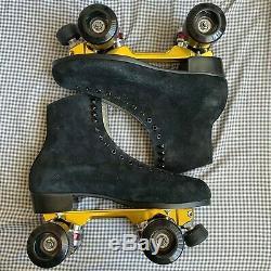 CUSTOM Riedell/pilot falcon roller skates size 11