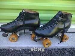 Classic Sure grip Riedell red wing 7 vanguard roller skates