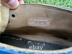 Custom Riedell 695 Quad Roller Skate Boot Color Lab 595 Mens Size 12