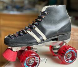 Custom Riedell Roller Skates Ws 6.5 Brand New Sure Grip Boardwalk Wheels