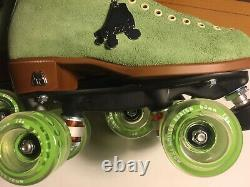 DISCONTINUED COLOR Moxi LOLLY Honeydew 8 Green Roller Riedell Skates W 9.5 / 9