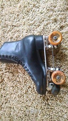 Douglas Snyder Riedell Roller Skates, Sz 8, Vintage Roller Skates, Riedell Skate