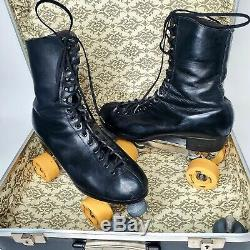 Douglas Snyder's Super Deluxe Mens Roller Skates Riedell Boots model 192 Size 10