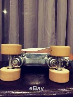 Douglass Snyder Custom Built Roller Skates297 Riedell BootSize 8 ½ Womens