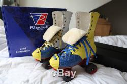 INCREDIBLE custom Riedell 172 rhythm roller skates & Arius plates RRP £1000 UK 6