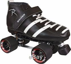 Indoor Speed Fast Roller Skates Riedell 265 Sunlite Fugitive Men Size 4-13