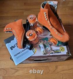 MOXI LOLLY Roller Skates Size 5 Clementine (brand new)