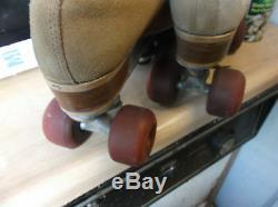 Men Suede Riedell Size 10 heel to toe 10 1/2 /Women size 11