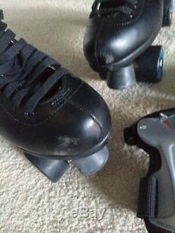 Men's RIEDELL Black rollerskates size 11
