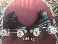 Men's Size 8 Riedell 297 Roller Skate Snyder Deluxe Roll Line Wheels