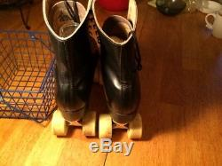 Men's figure skates 11 1/2 Riedell roller skates