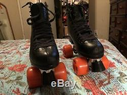 Mens Riedell Boot Rollerskates. Size 9. Used Once. With Indoor & outdoor Wheels