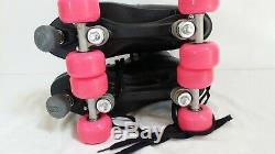 Mens Riedell Quad Roller Skates Black Size 11