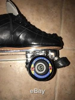 Mint Mens Size 10 Riedell Speed 595 Vintage Roller Skates