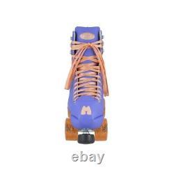 Moxi Beach Bunny Periwinkle Sunset Roller Skates Size 6 (w7-7.5)x Impala Riedell