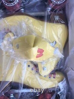 Moxi Beach Bunny Roller Skates Lemonade Size 7 (7.5 8.5 W) READY TO SHIP