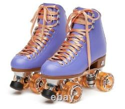 Moxi Beach Bunny Roller Skates Periwinkle Size 5 (5.5/6)