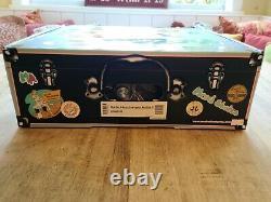 Moxi Beach Bunny Roller Skates Strawberry Lemonade Size 8 Toe Guards NEW IN BOX