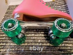 Moxi Beach Bunny Watermelon Roller Skates Size 5 (w6-6.5) Riedell
