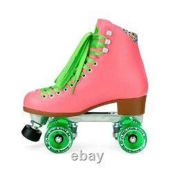 Moxi Beach Bunny Watermelon Roller Skates Size 7 (w8-8.5) Riedell