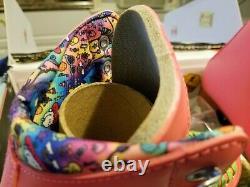 Moxi Beach Bunny Watermelon Roller Skates Size 8 (w9-9.5)x Lolly Impala Riedell