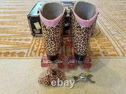 Moxi Jungle Roller Skates Size 7 (w8-8.5) Riedell. READ TO SHIP NOW