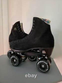 Moxi Lolly Black 8 (W 9-9.5) Rollerskates NEW 2021 MODEL