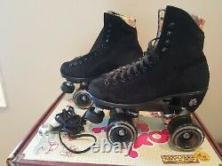 Moxi Lolly Black Roller Skates Size 4 (w5-5.5) not Impala Sure-Grip Riedell