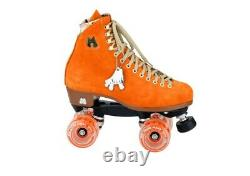 Moxi Lolly Clementine Roller Skates Size 6 (w7-7.5) Riedell READY TO SHIP NOW
