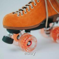 Moxi Lolly Clementine Roller Skates Size 9 (w10-10.5) Riedell READY TO SHIP NOW