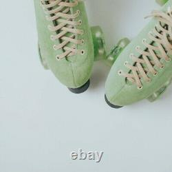 Moxi Lolly Honeydew Roller Skates Size 10 (w11-11.5) Riedell. Ready to ship now