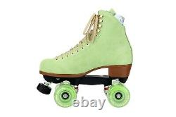 Moxi Lolly Honeydew Roller Skates Size 8 (w9-9.5) Riedell. Ready to ship now