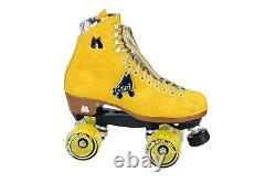 Moxi Lolly Pineapple Roller Skates Size 8 (w9-9.5) not Impala Riedell Sure-Grip