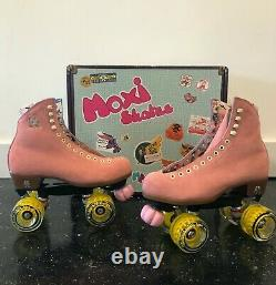 Moxi Lolly Pink Roller Skates size 7 (Women's 8-8.5) New with box