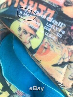 Moxi Lolly Pool Blue Roller Skates Size 8