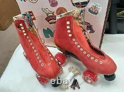Moxi Lolly Red Poppy Size 6 Fits Women's 7 New in Original Box