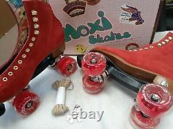 Moxi Lolly Red Poppy Size 9 Fits Women's 10 New in Original Box