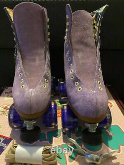 Moxi Lolly Roller Skates 2021- Lilac, Size 5, New in box, Laces and Crab tool