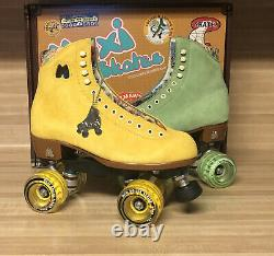 Moxi Lolly Roller Skates Citrus Combo Size 8 (fits womens 9 & 9.5)