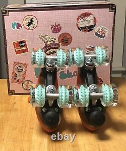 Moxi Lolly Roller Skates Clementine Size 6! Brand New Quick Shipping