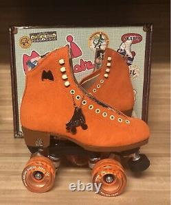Moxi Lolly Roller Skates Clementine Size 7 (fits Womens 8 8.5)