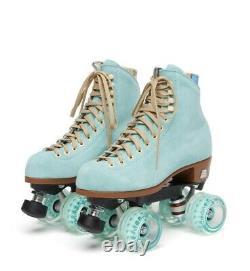 Moxi Lolly Roller Skates Floss Blue Size 10 Boot